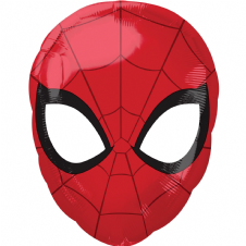Spiderman Face Foil Helium Balloon